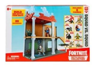 Set De Juego Fornite Armable Con 8 Figuras De Personajes