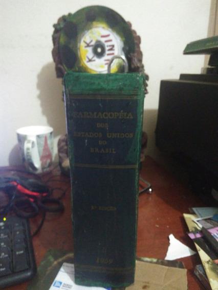 Livro Farmacopeia Dos Estados Unidos Do Brasil 1959 2 Ed