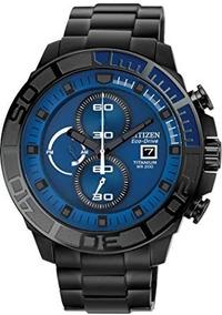 Promoção Incrível Relógio Citizen Ca0525-50l Titanium Black