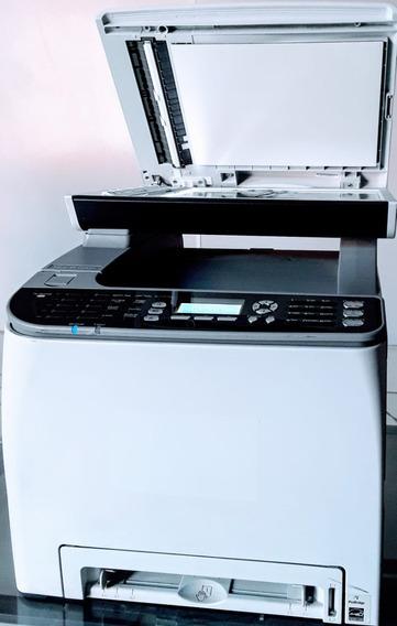 Impressora Multi Color Ricoh Sp C242 Sf Revisada, Com Toner