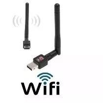 Placa Adaptador Receptor Wireless 600mbps Wifi Removível