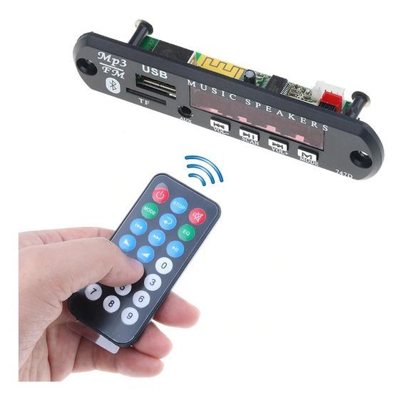 Placa P/ Amplificador - Modulo Usb Mp3 Bluetooth Pasta