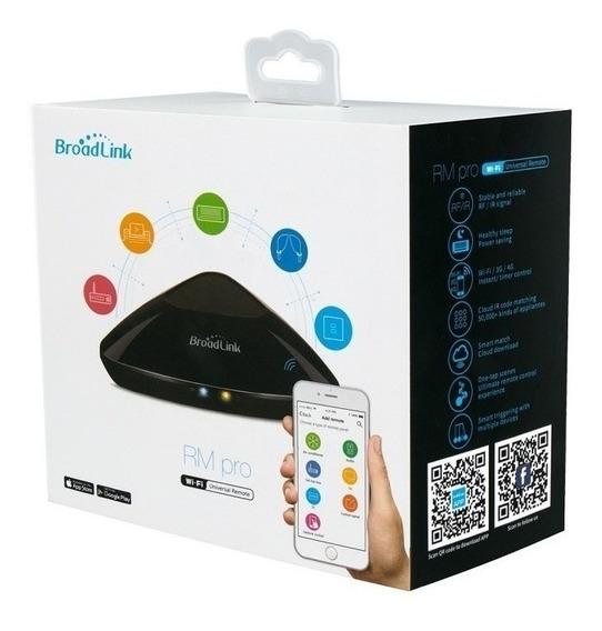 Central Wifi Automação Residencial Broadlink Rm3 Pro+ 2020!!