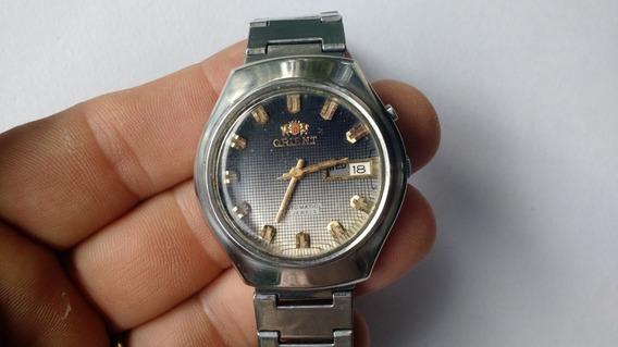Relógio Orient Automático Azul Antigo Excelente