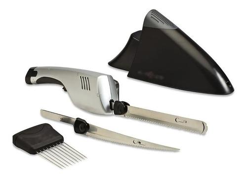 Cuchillo Electrico Inalambrico Cuchilla Acero Doble Pan