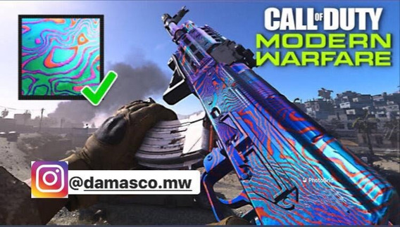 Camuflagem Damasco Cod Mw( Ps4, Xbox )