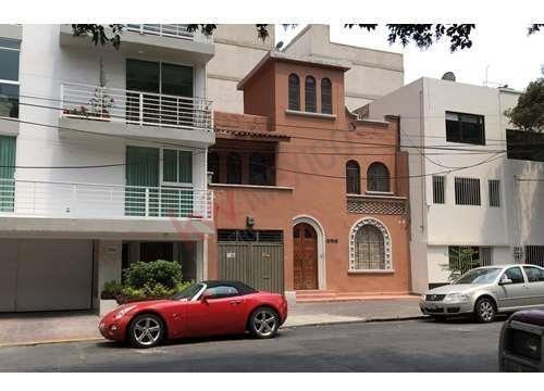Casa En Venta, Ciudad De México, Colonia Del Valle, Ideal Para Inversión