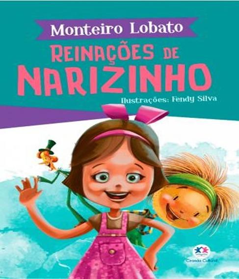 Livro Juvenil Monteiro Lobato - Reinações De Narizinho