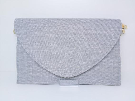 Bolsas Femininas Clutch Envelope Linho Carteira Festa(a1205)
