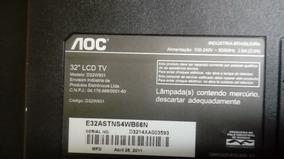 Kit Carcaça Com Lâmpadas Tv Lcd Aoc D32w931