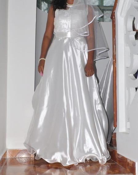 Vestido De Novia Falda Desmontable