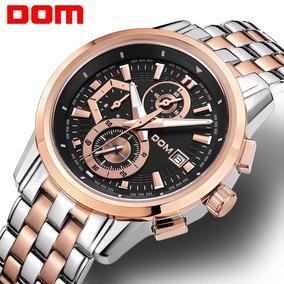 Dom Relógio Esportivo Masculino Chronograph Militar M-6033