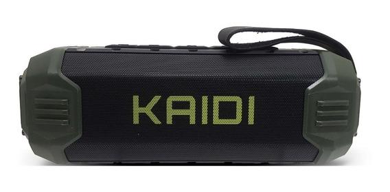 Caixa De Som Bluetooth Kaidi Kd805 Prova D