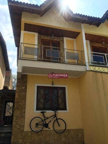 Sobrado Com 2 Dormitórios À Venda, 134 M² Por R$ 650.000,00 - Jardim Bom Clima - Guarulhos/sp - So0589