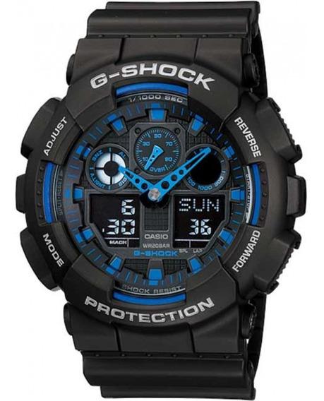 Relógio Casio G-shock Ga-100-1a2dr + Nfe + Garantia Ga100