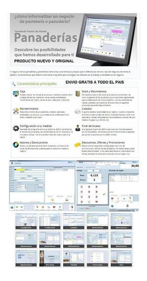 Software Para Panadería Y Pastelería - Ventas - Stock- Caja