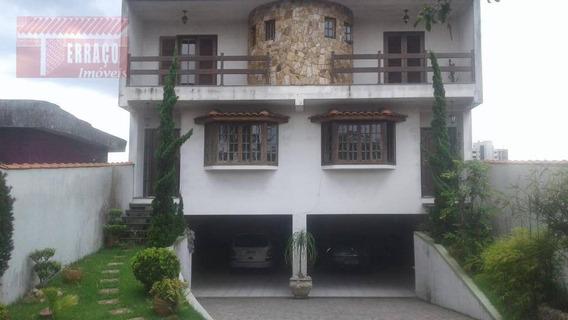 Sobrado Residencial À Venda, Jardim Pilar, Mauá. - So0804
