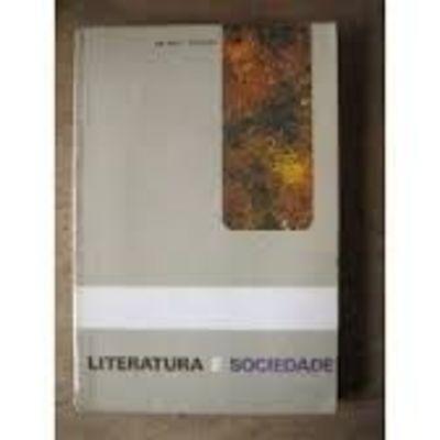 Livro Literatura E Sociedade Antonio Candido