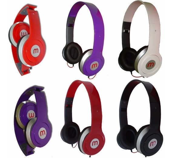 Fone Ouvido Mex Beats Headphone Stereo P2 Celular/iPhone/pc