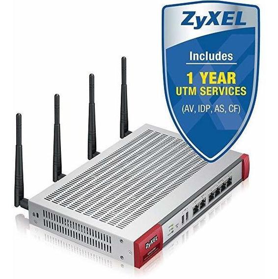 Zyxel Usg60w Utm Firewall Vpn 11n Router C/1 Yr Cf Av Id ©
