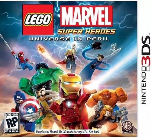 Juego Lego Marvel Super Heroes Nintendo 3ds Oferton !!