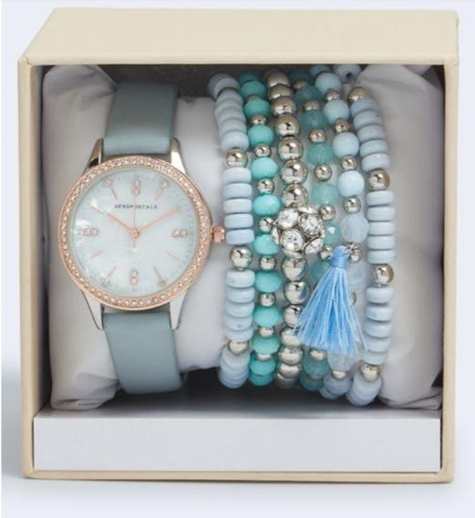 Relógio Aeropostale Com Bracelete Feminino