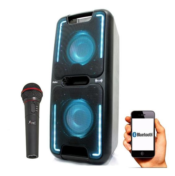 Caixa Amplificada Philco Pcx 5500 2000w Bluetooth App