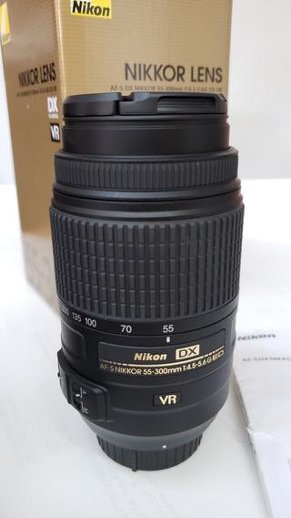 Lente Nikon 55-300 F/4.5-5.6 Ed Vr