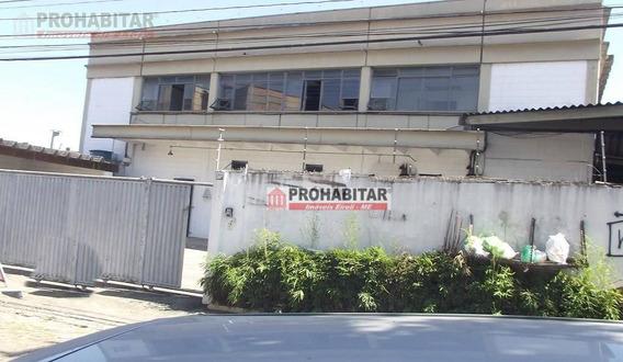 Galpão Industrial Para Venda E Locação, Santo Amaro, São Paulo - Ga0107. - Ga0107