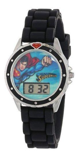 Superman Kids Sup9007 - Reloj De Cuarzo Con Pantalla Digital