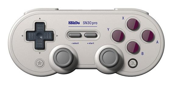 8bitdo Sn30 Pro Clássico Retro Controlador Bt Gamepad Para