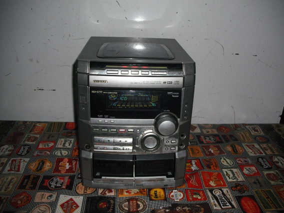 Micro System Aiwa Mod.nsx-s777. Stereo Am Fm Aux