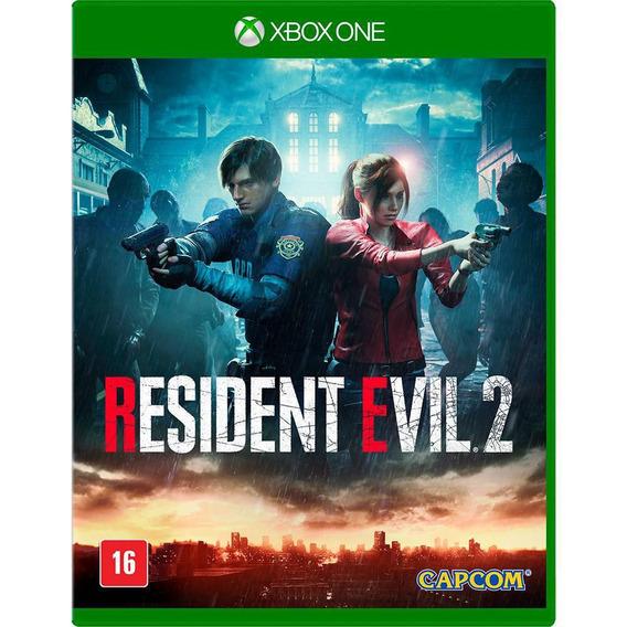 Jogo Midia Fisica Resident Evil 2 Lacrado Para Xbox One