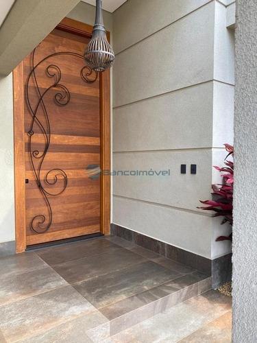 Casa Térrea Em Condomínio À Venda Em Paulínia - Ca03109 - 69413076