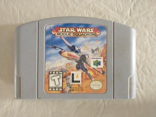 Imagen 1 de 4 de Star Wars Rogue Squadron Para Nintendo 64