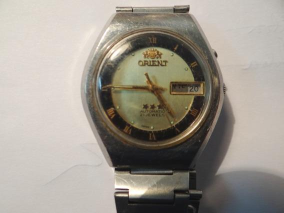 Relógio Orient Automatic Masc 21 J Calendário Funcionando