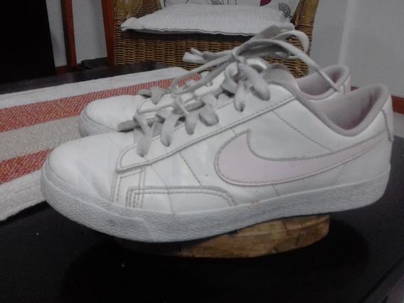 Zapatillas Nike Escolar De Cuero