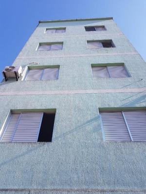Apartamento Em Praia Grande Aviação, Prédio Com 3° Andares Próximo Dos Comércios E Bancos Da Avenida Presidente Kennedy, 1 Dormitório, - Ap4465