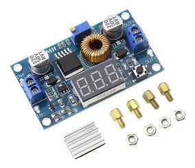 Regulador De Tensão Dc Xl4015 Até 5a, Step Down C/ Display