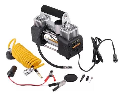 Compresor De Aire Portatil Para Inflar Nuematicos De Autos