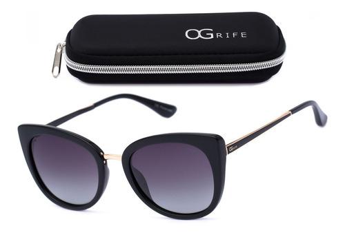 Oculos Ogrife Solar Feminino Og 1610-c Proteção Uv Original