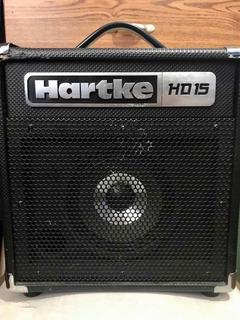 Amplificador Para Bajo Eléctrico Hartke 15 Watts