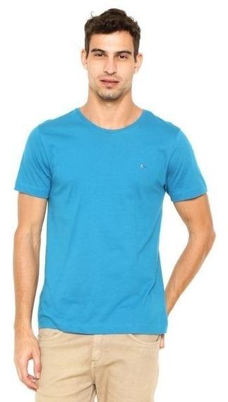 Camiseta Algodão Roxa Básica Sem Estampa Silk Lisa Atacado