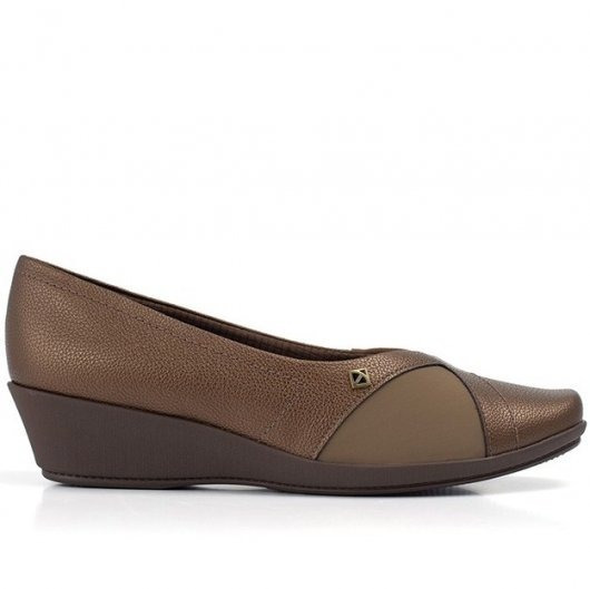 Sapato Piccadilly Joanete Marrom 144050