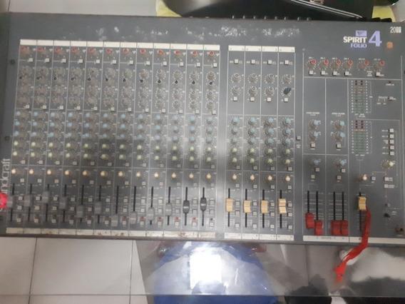 Mesa Soundcraft Spirit Folio 2044 Com 20 Canais