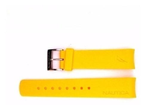Pulseira Náutica 22mm Amarela