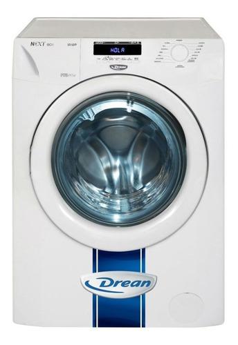 Lavarropas automático Drean Next 10.12 P ECO inverter blanco 10kg 220V