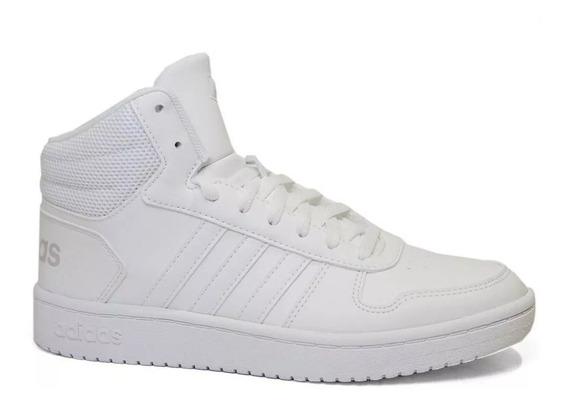Tênis adidas Hoops 2.0 Mid W Branco I Original + Nf 10540