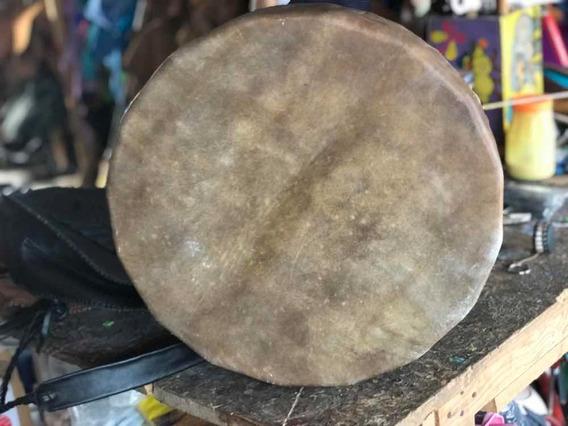 Tambor Tradicional De 35 Cm Para Temazcal
