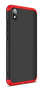 Funda 360 Luxury Para Xiaomi Redmi 7a + Vidrio